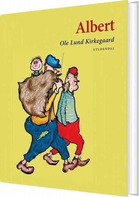 Image of   Albert - Ole Lund Kirkegaard - Bog