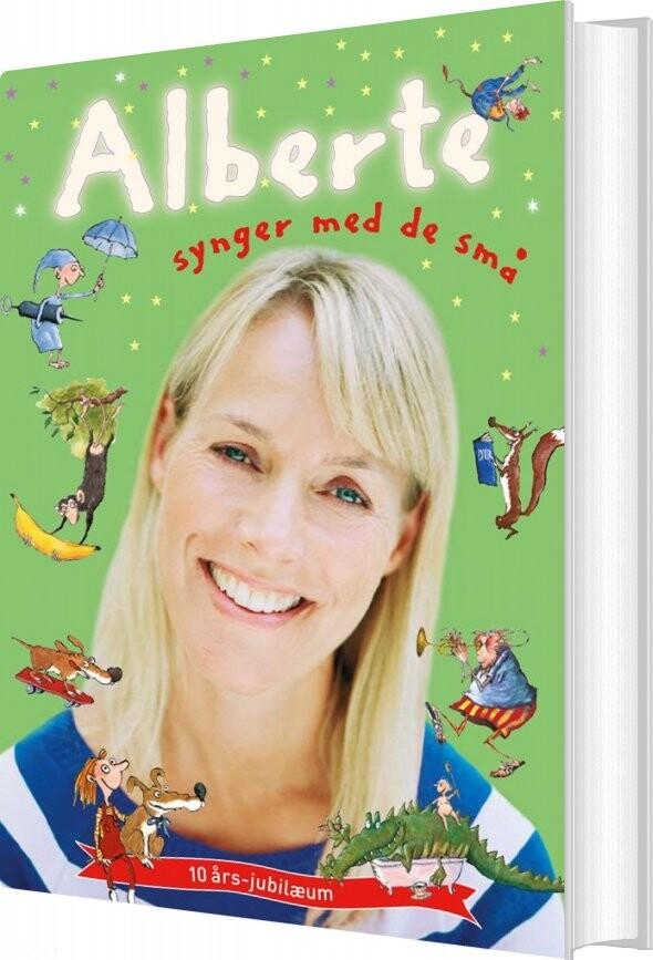 Image of   Alberte Synger Med De Små + Cd - Alberte Winding - Bog