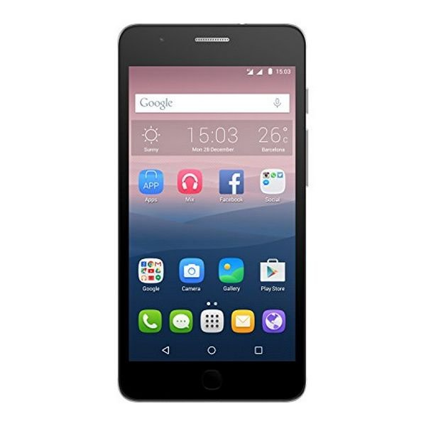 "Image of   Alcatel Onetouch Smartphone - 5"" Display - 13mp Kamera - 16gb Plads - Sort"