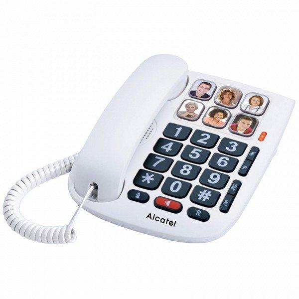 Image of   Alcatel Tmax 10 Fastnettelefon Til ældre - Hvid
