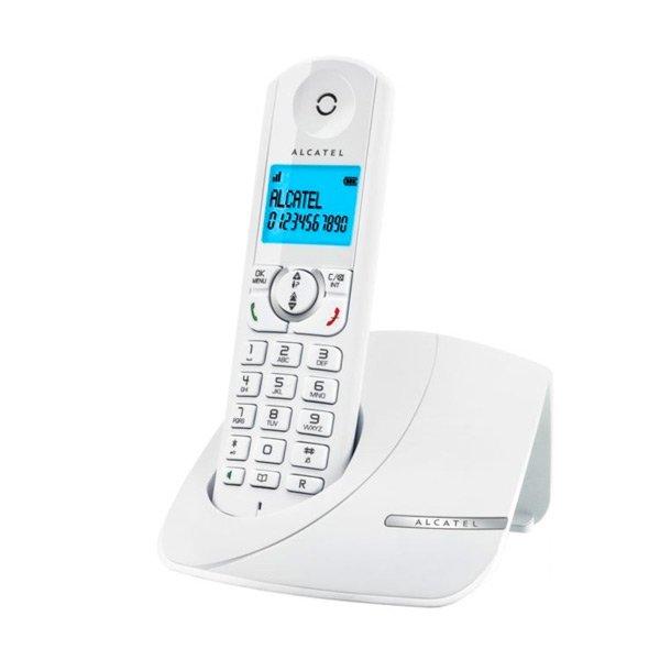 Image of   Alcatel - Trådløs Fastnet Telefon - 2 Stk - F380-s - Hvid