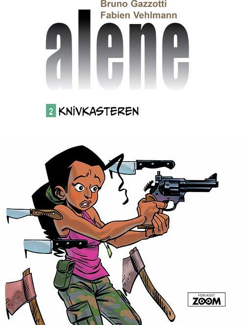 Image of   Alene 2: Knivkasteren - Gazzotti - Tegneserie