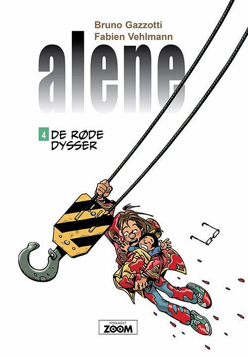 Image of   Alene 4: De Røde Dysser - Gazzotti - Tegneserie