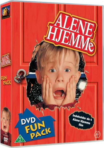 Billede af Alene Hjemme 1 - 4 Box - DVD - Film
