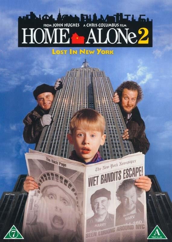 Billede af Home Alone 2 / Alene Hjemme 2 - DVD - Film