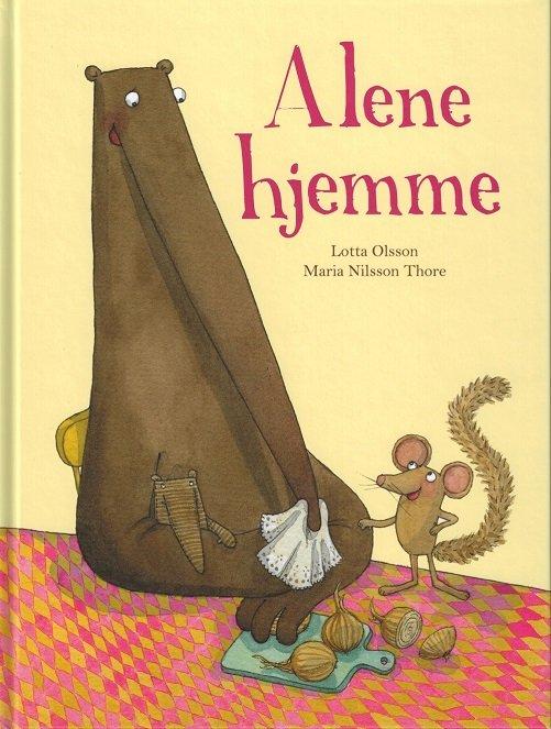 Image of   Alene Hjemme - Lotta Olsson - Bog