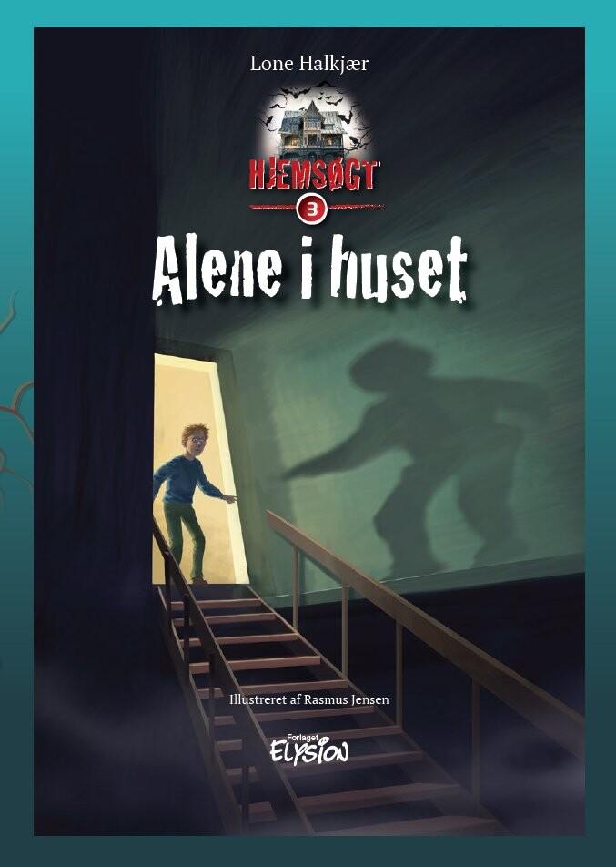 Image of   Alene I Huset - Lone Halkjær - Bog