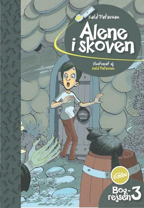 Image of   Alene I Skoven - Keld Petersen - Bog