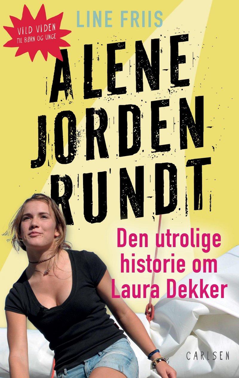 Image of   Alene Jorden Rundt - Line Friis Frederiksen - Bog