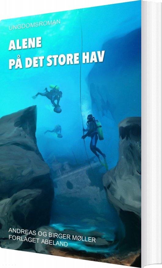 Image of   Alene På Det Store Hav - Andreas - Bog