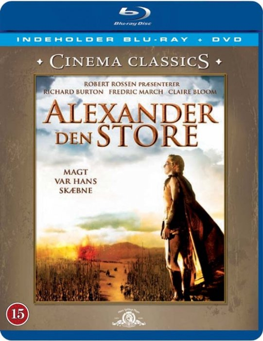 Image of   Alexander Den Store / Alexander The Great (blu-ray + Dvd) - Blu-Ray
