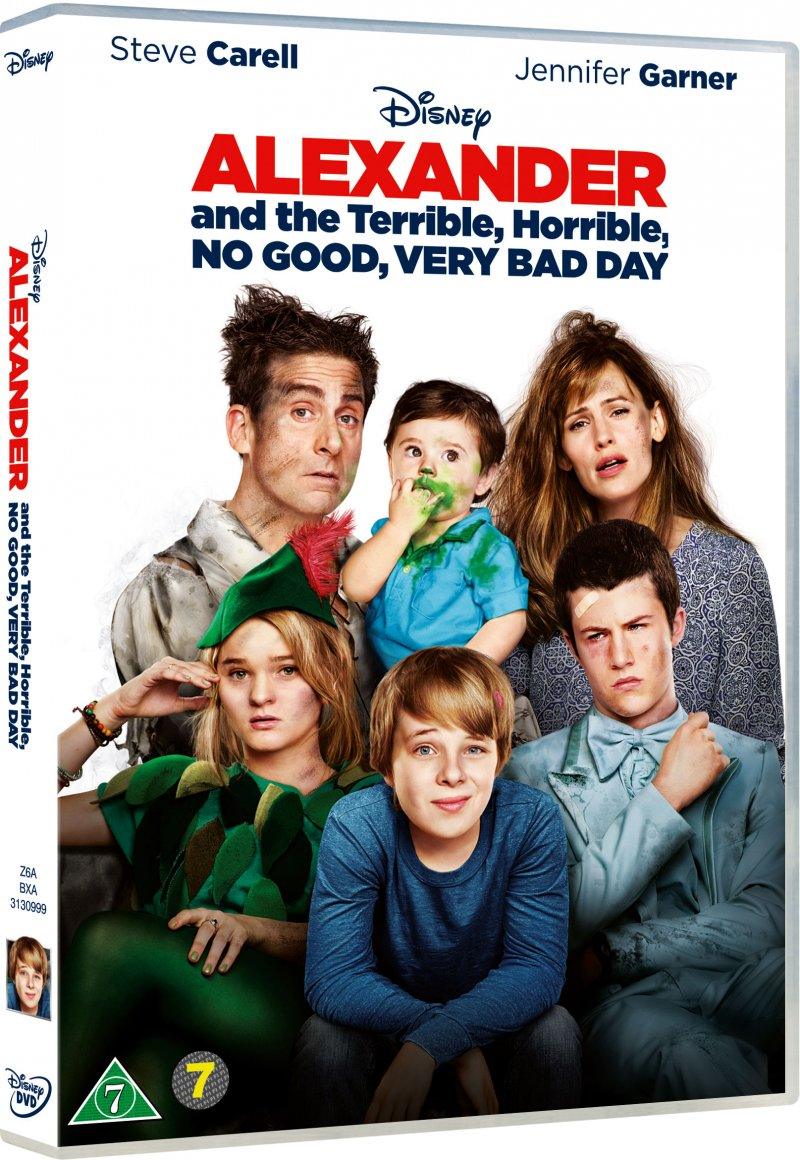 Billede af Alexander And The Terrible, Horrible, No Good, Very Bad Day - DVD - Film
