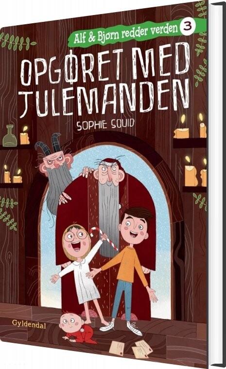 Image of   Alf Og Bjørn Redder Verden 3 - Opgøret Med Julemanden - Sophie Souid - Bog