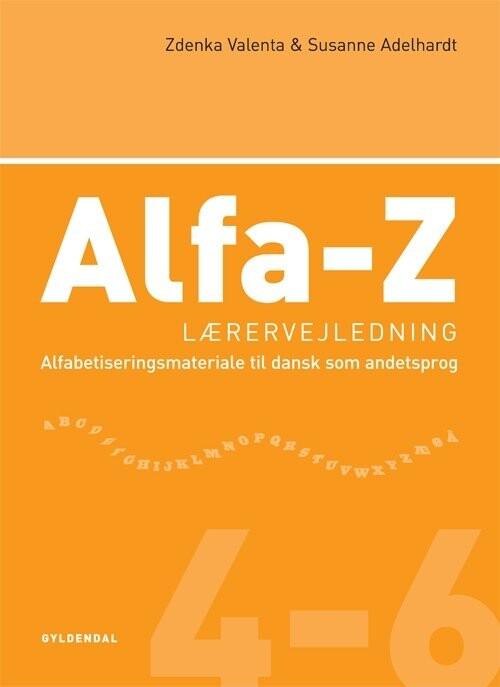 Image of   Alfa-z 4-6 Lærervejledning - Zdenka Valenta - Bog