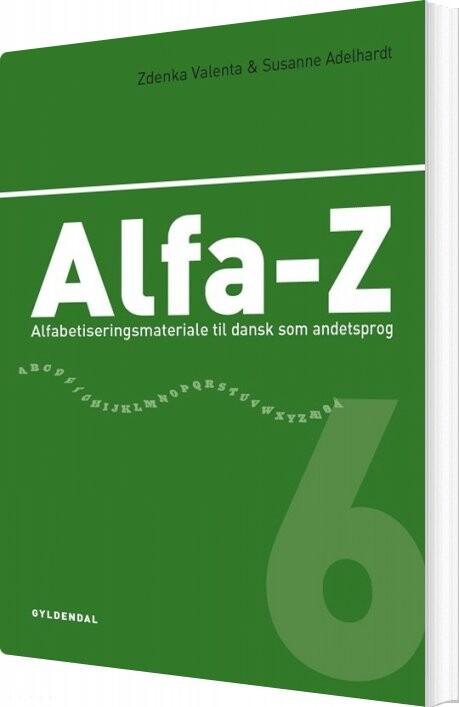 Billede af Alfa-z 6 - Zdenka Valenta - Bog