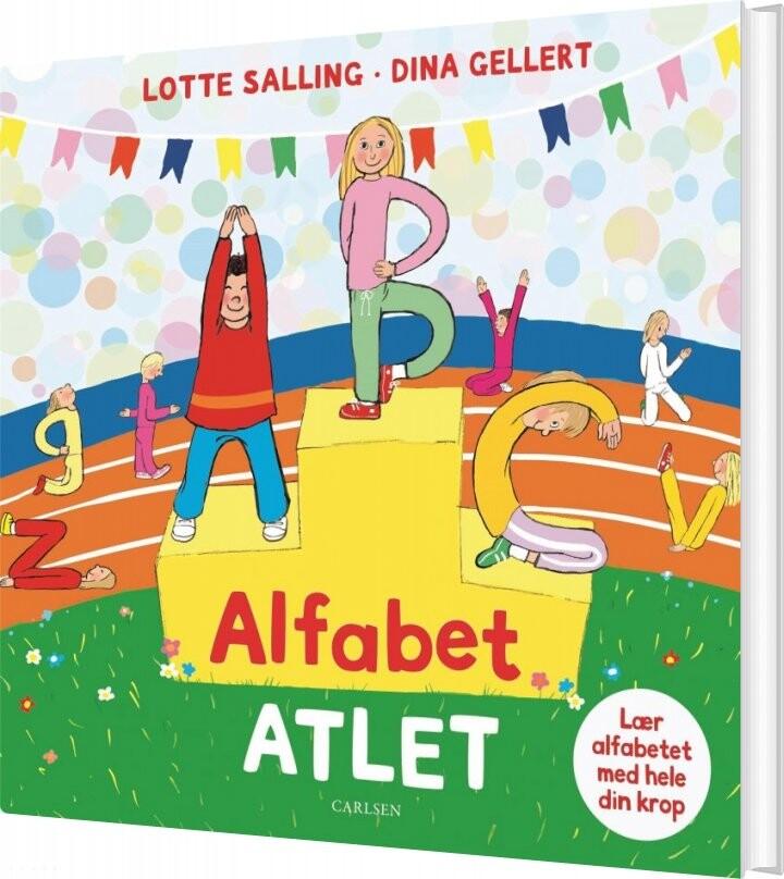 Image of   Alfabet-atlet - Lotte Salling - Bog