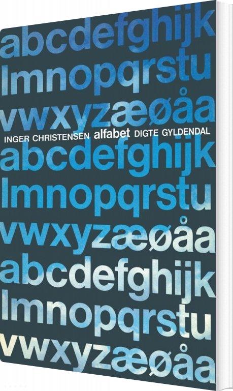 Alfabet - Inger Christensen - Bog