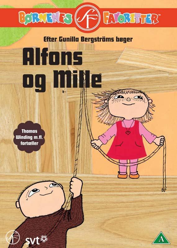 Alfons åberg - Alfons Og Mille - DVD - Film