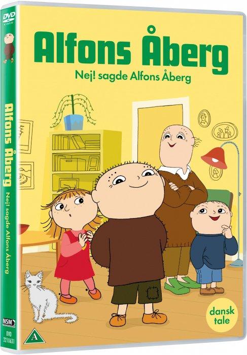 Image of   Alfons åberg - Nej! Sagde Alfons åberg - DVD - Film