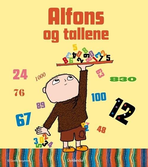 Billede af Alfons Og Tallene - Gunilla Bergström - Bog