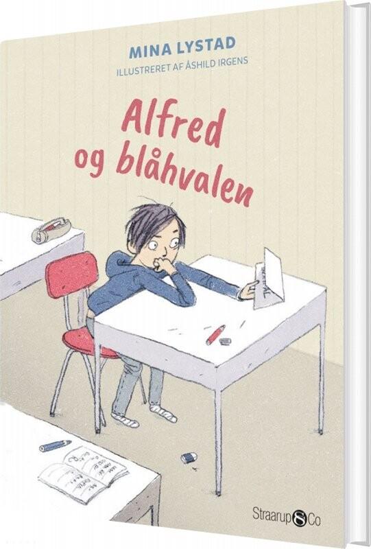 Image of   Alfred Og Blåhvalen - Mina Lystad - Bog