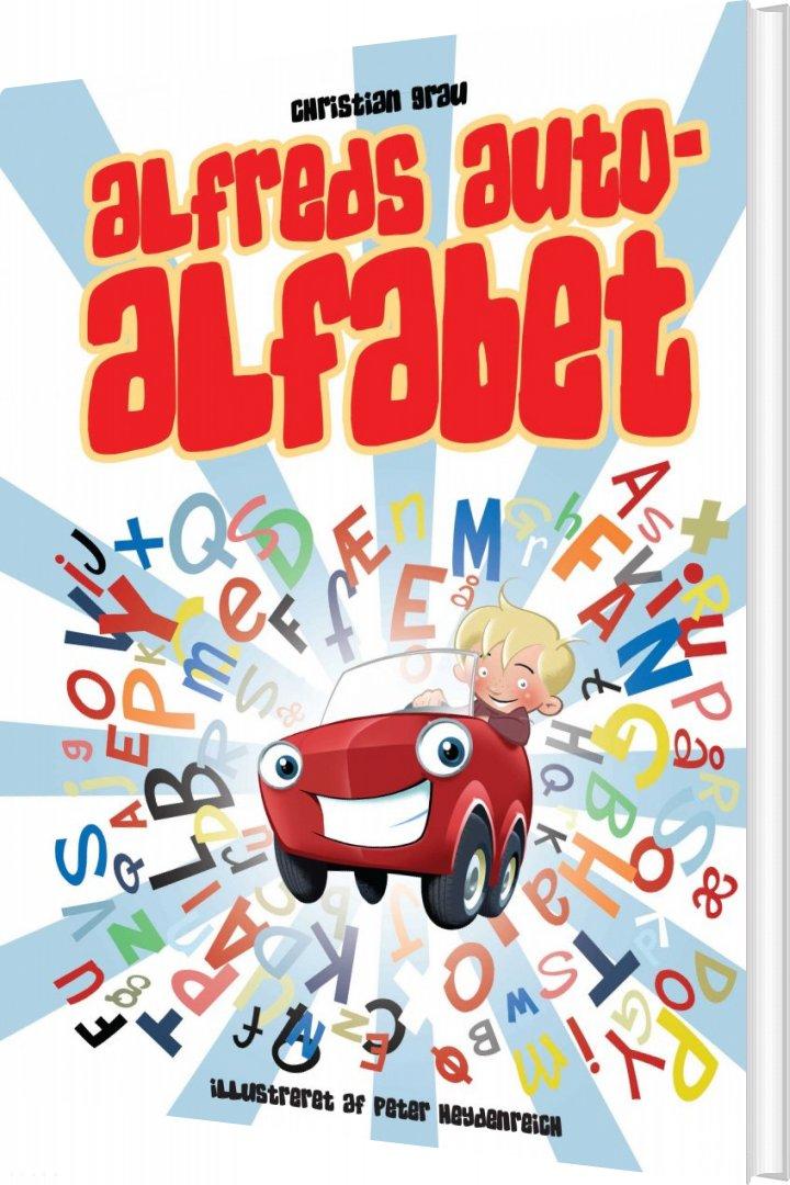 Image of   Alfreds Autoalfabet - Christian Grau - Bog