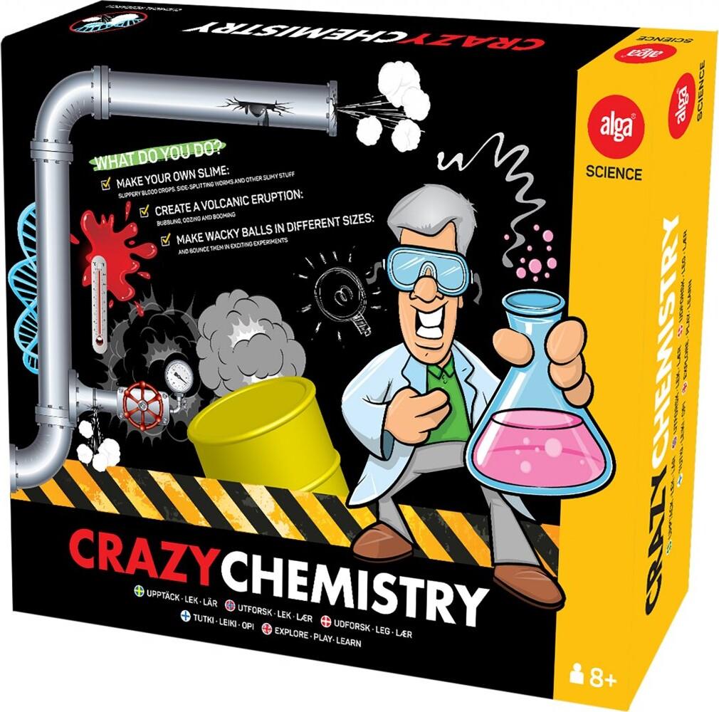 Image of Crazy Chemistry Kemisæt - Alga