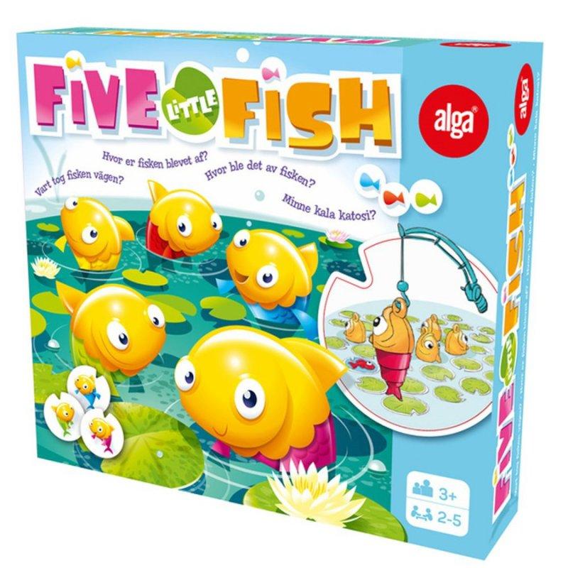 Image of   Alga Spil - Five Little Fish