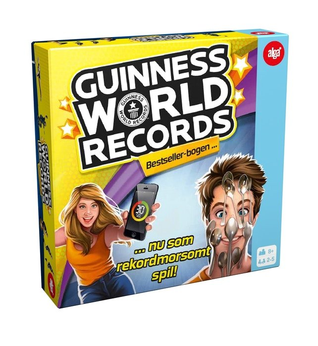 Image of Guinness World Records Rekordspil