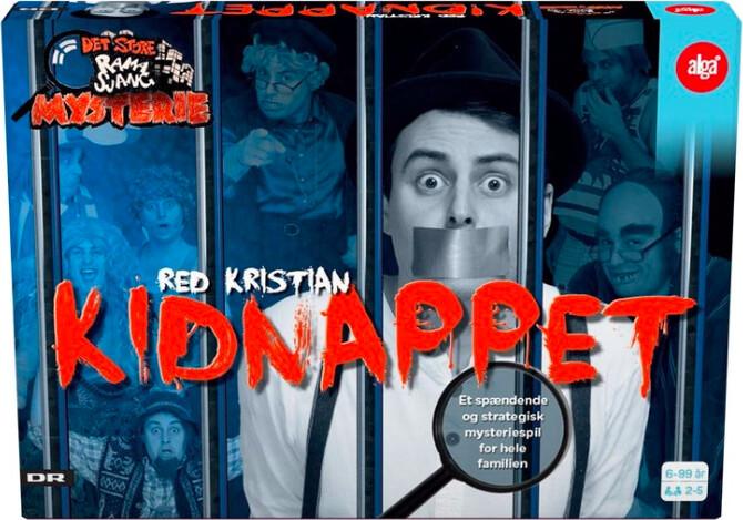 Kidnappet - Ramasjang Brætspil - Red Kristian