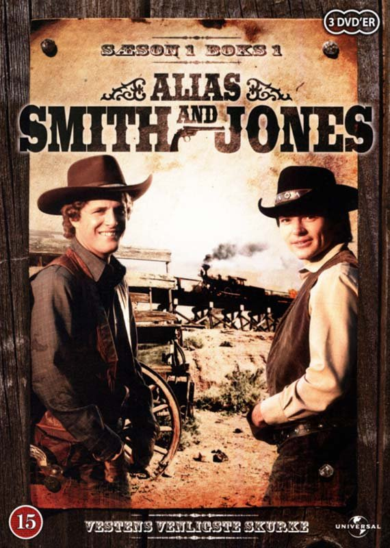 Alias Smith Og Jones - Sæson 1 - Boks 1 - DVD - Tv-serie