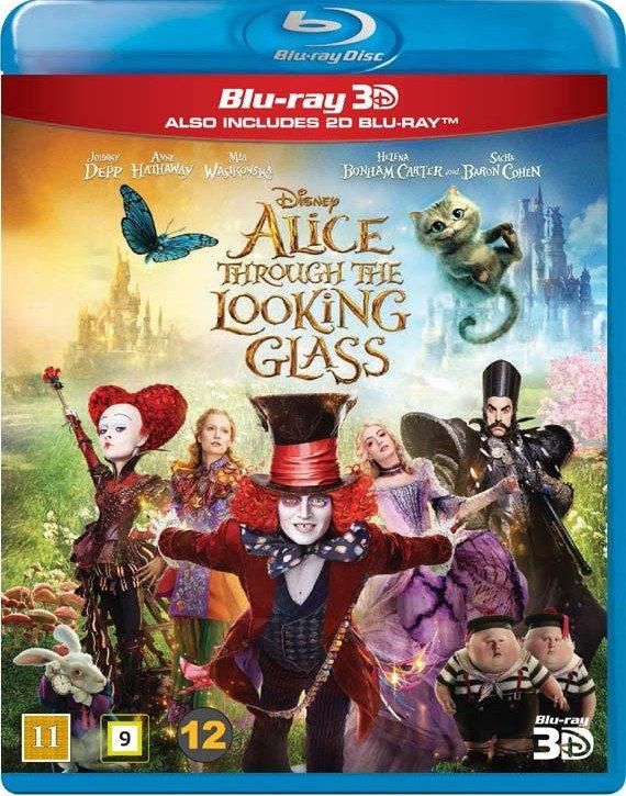 Image of   Alice In Wonderland 2 / Alice I Eventyrland 2 - Disney - 3D Blu-Ray