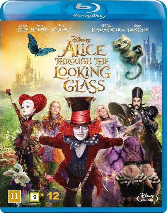 Image of   Alice In Wonderland 2 / Alice I Eventyrland 2 - Disney - Blu-Ray