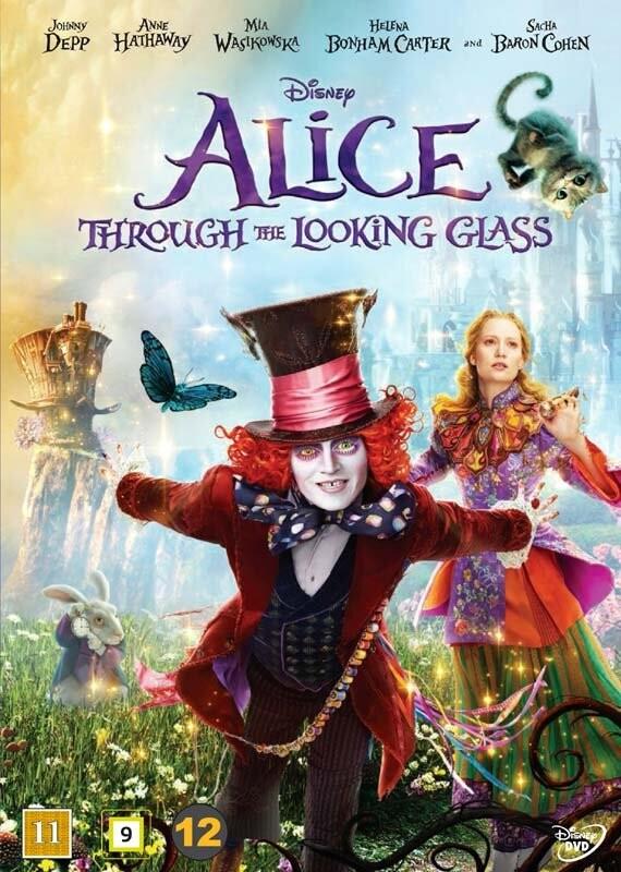 Image of   Alice In Wonderland 2 / Alice I Eventyrland 2 - Disney - DVD - Film