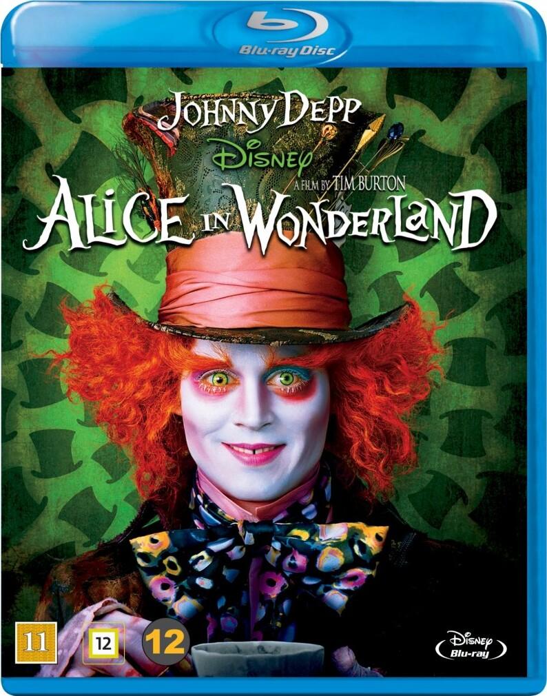Image of   Alice In Wonderland / Alice I Eventyrland - Johnny Depp - Disney - Blu-Ray