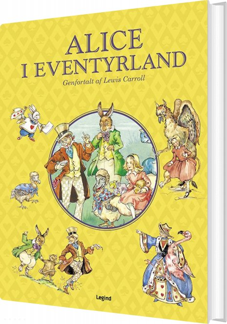 Image of   Alice I Eventyrland - Lewis Caroll - Bog