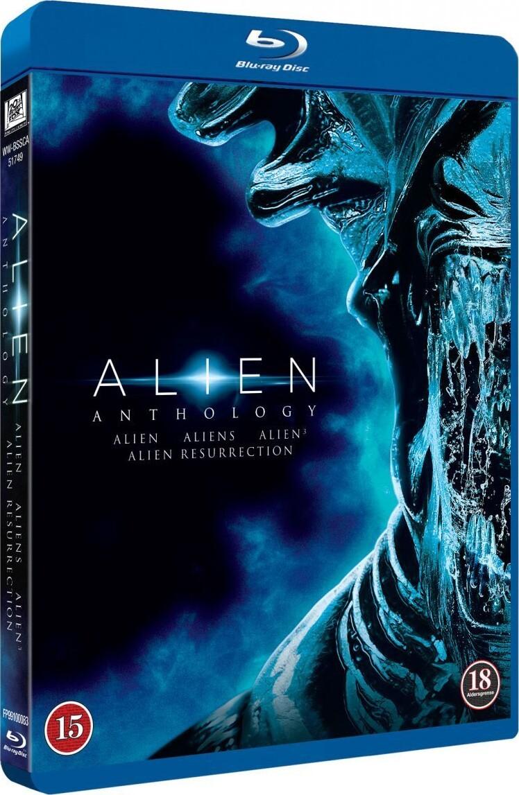 Billede af Alien // Alien 2 // Alien 3 // Alien Resurrection - Blu-Ray