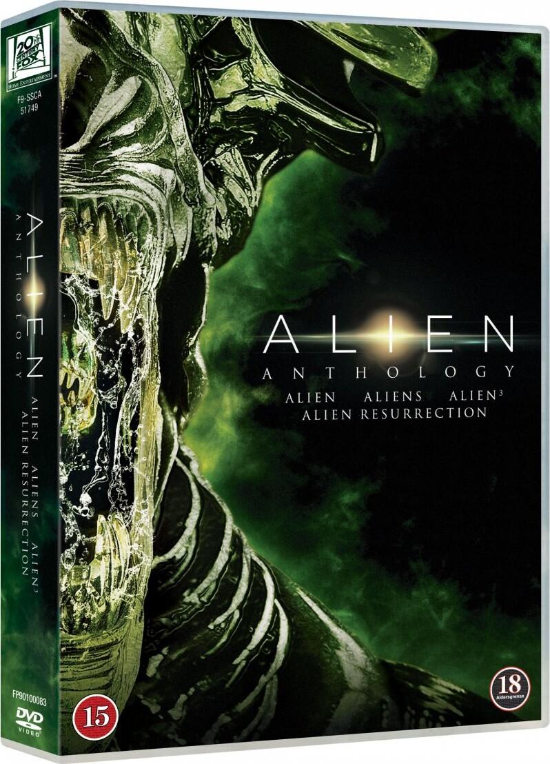 Image of   Alien 1-4 Anthology Box - DVD - Film