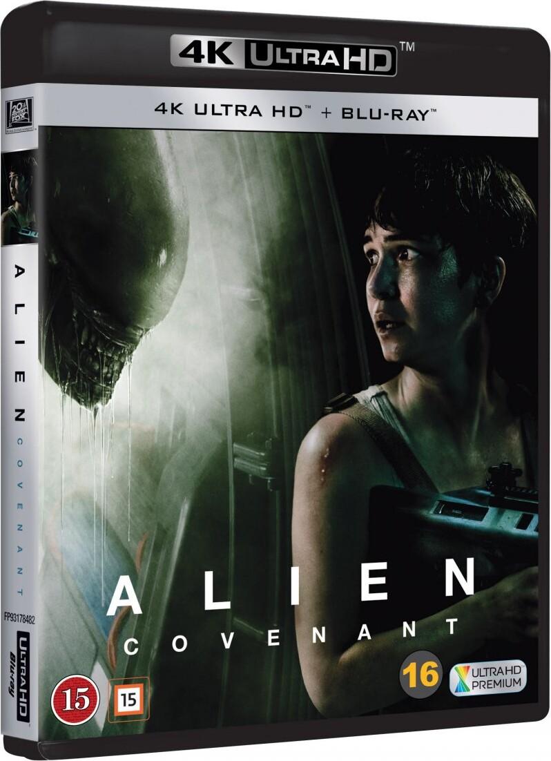 Image of   Alien: Covenant - 4K Blu-Ray
