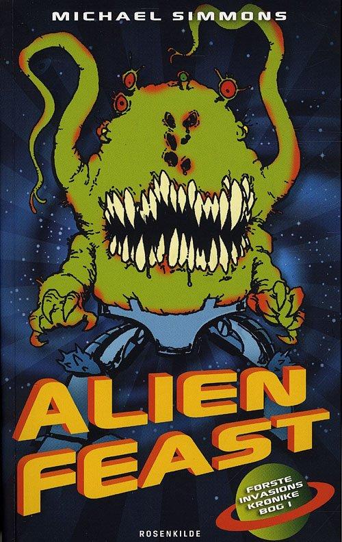 Image of   Alien Feast - Michael Simmons - Bog