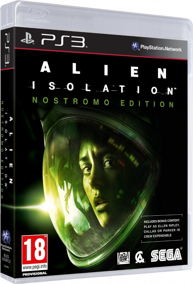 Image of   Alien: Isolation - Nostromo Edition - PS3
