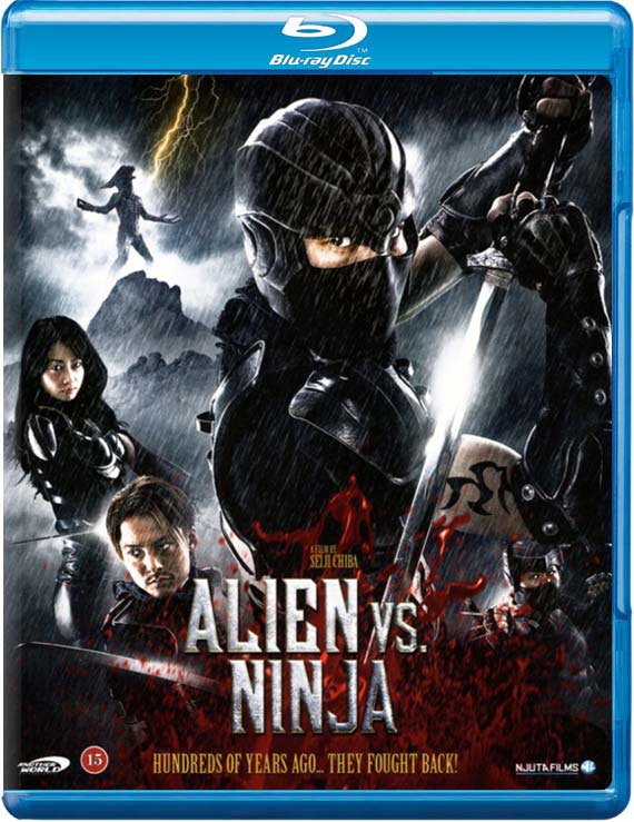Image of   Alien Vs. Ninja - Blu-Ray