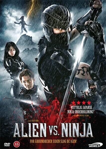 Image of   Alien Vs. Ninja - DVD - Film