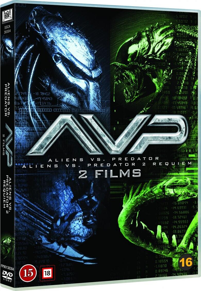 Image of   Alien Vs. Predator // Alien Vs. Predator 2: Requiem - DVD - Film