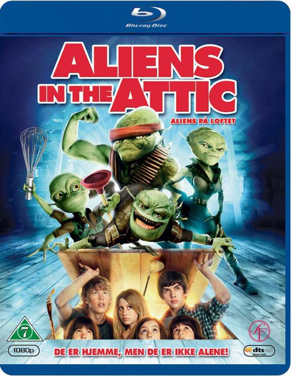 Image of   Aliens In The Attic / Aliens På Loftet - Blu-Ray