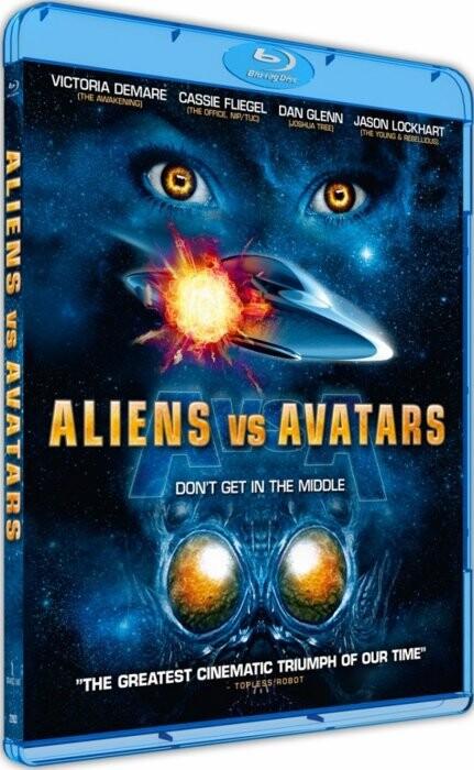 Image of   Aliens Vs. Avatars - Blu-Ray