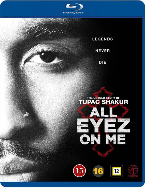 Image of   All Eyez On Me - Blu-Ray
