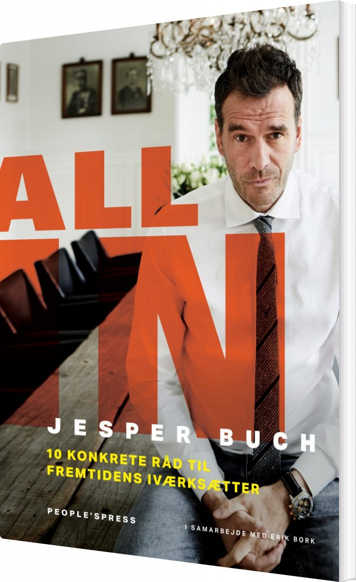 Image of   All In - Jesper Buch - Bog