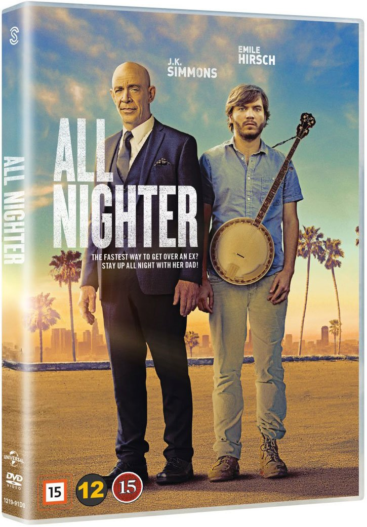 Image of   All Nighter - DVD - Film