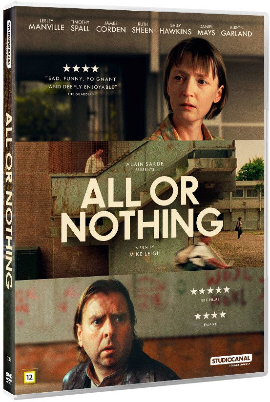 Image of   All Or Nothing - DVD - Film